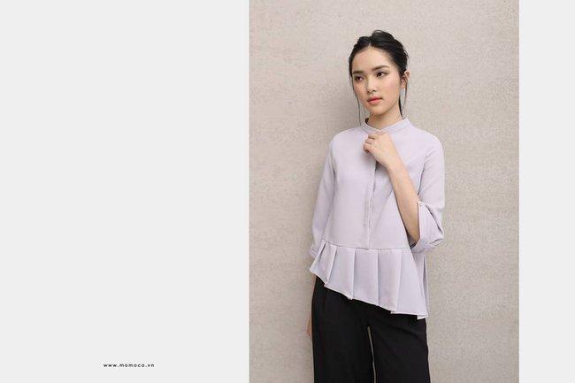 Loạt mẫu áo sơmi/blouse trơn màu giá chưa đến 500 ngàn từ thương hiệu Việt để các nàng chọn mua cho hè - Ảnh 12.