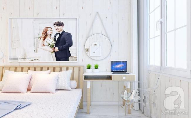 Phòng ngủ 15m² của vợ chồng trẻ đẹp hoàn hảo chỉ với 20 triệu - Ảnh 4.