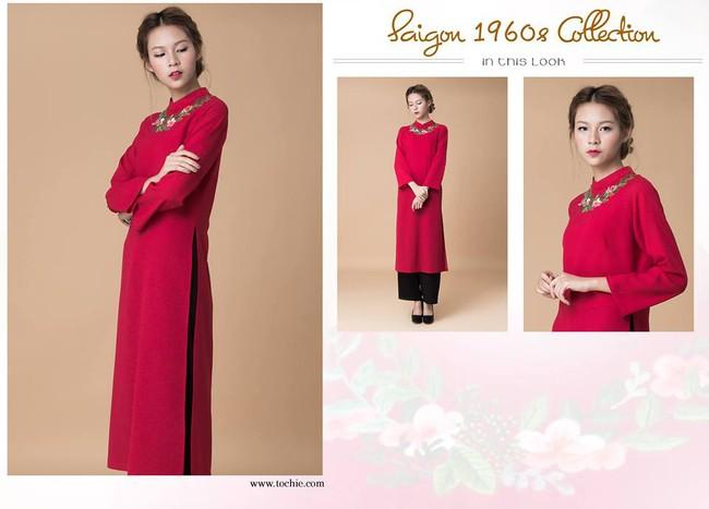 Du Xuân duyên dáng cùng loạt thiết kế áo dài truyền thống có giá dưới 3 triệu đồng - Ảnh 3.