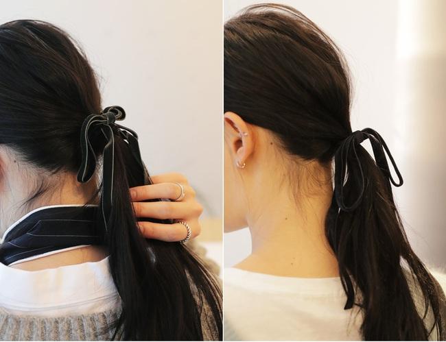 Những kiểu tóc cứu nguy cho ngày đầu bết vì mưa gió - Ảnh 5.