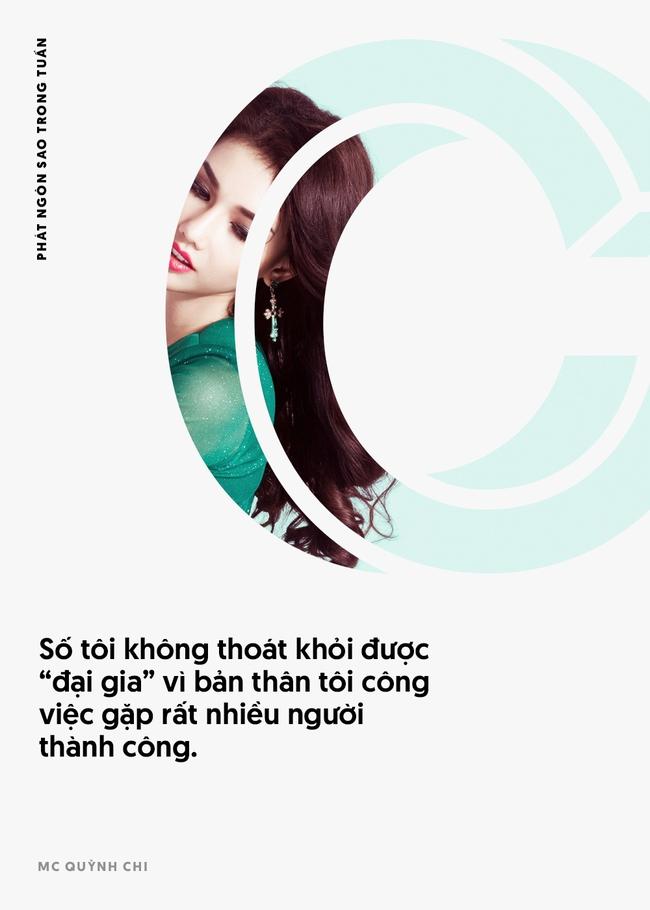 Đinh Ngọc Diệp và Victor Vũ giận nhau không quá 15 phút; MC Quỳnh Chi tuyên bố số cô không thoát được đại gia - Ảnh 3.