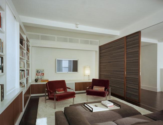 Cửa gỗ cánh trượt - giải pháp vàng để tiết kiệm diện tích và giúp không gian sống đẹp hơn - Ảnh 7.