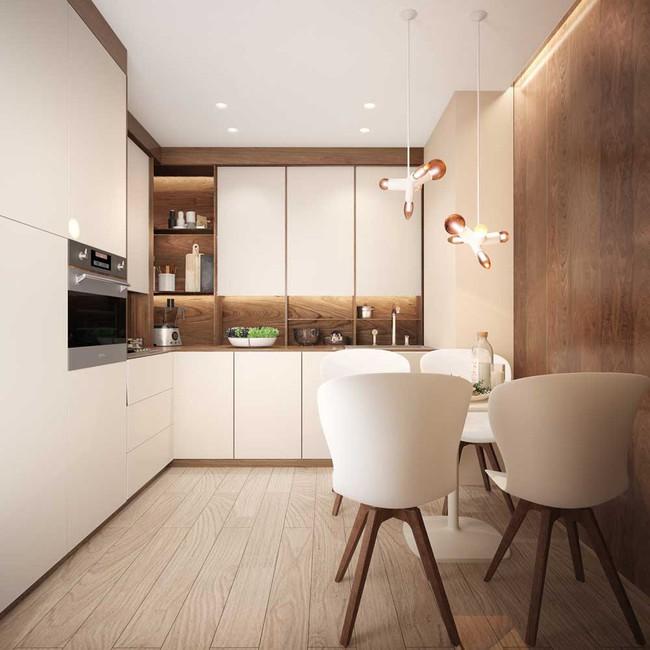 8 căn bếp đẹp xuất sắc dù chỉ vỏn vẻn 8m² - Ảnh 3.