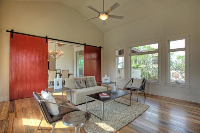 Cửa gỗ cánh trượt - giải pháp vàng để tiết kiệm diện tích và giúp không gian sống đẹp hơn - Ảnh 6.