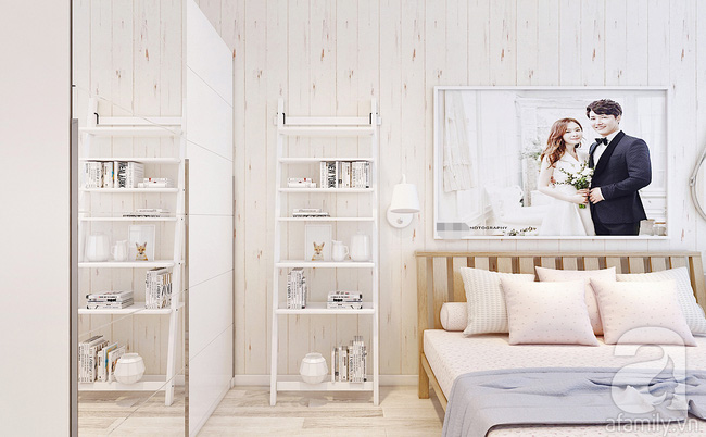 Phòng ngủ 15m² của vợ chồng trẻ đẹp hoàn hảo chỉ với 20 triệu - Ảnh 6.