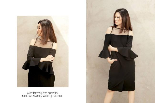 Nàng duyên dáng đừng bỏ qua loạt thiết kế váy-áo tay loe đến từ thương hiệu Việt này nhé! - Ảnh 12.