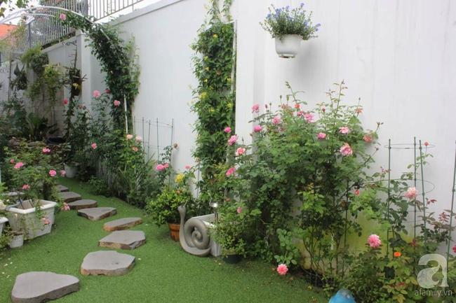 Ngôi nhà vườn rộng 200m² nhìn đâu cũng thấy cây và hoa rực rỡ ở TP HCM - Ảnh 7.