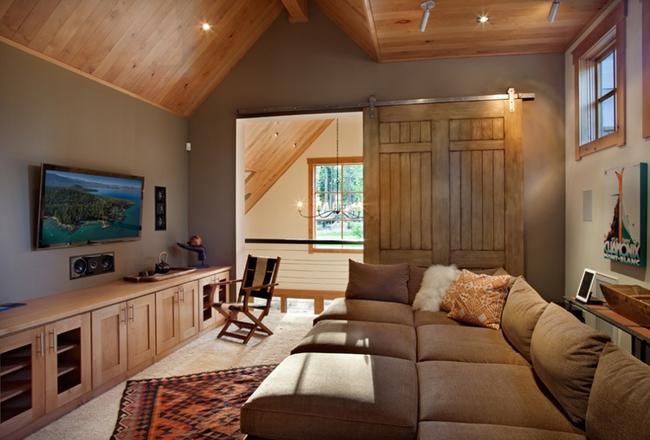 Cửa gỗ cánh trượt - giải pháp vàng để tiết kiệm diện tích và giúp không gian sống đẹp hơn - Ảnh 5.