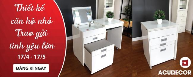 Biến hóa căn hộ nhỏ cũ kỹ trở nên tiện nghi, hiện đại nhờ nội thất thông minh  - Ảnh 6.