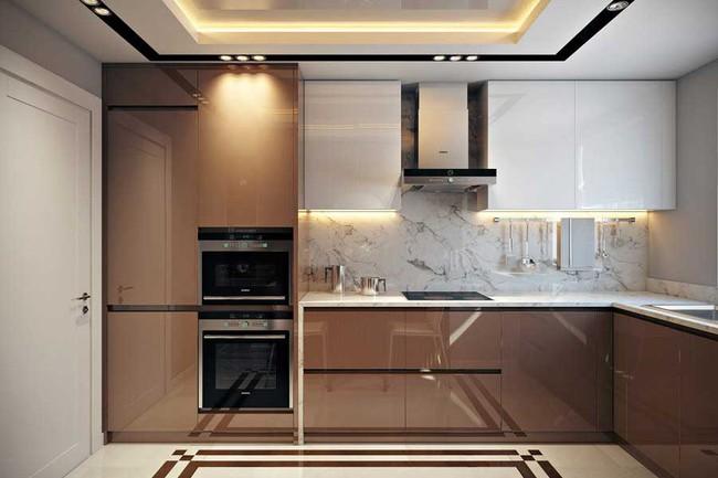 8 căn bếp đẹp xuất sắc dù chỉ vỏn vẻn 8m² - Ảnh 1.