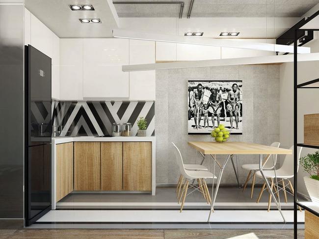 Thiết kế xinh yêu, hợp lý thế này thì căn hộ nhỏ cũng dư sức khiến bạn yêu từ cái nhìn đầu tiên - Ảnh 8.