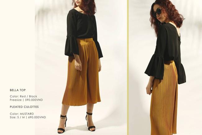 Nàng duyên dáng đừng bỏ qua loạt thiết kế váy-áo tay loe đến từ thương hiệu Việt này nhé! - Ảnh 14.
