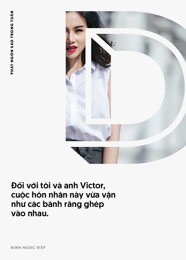 Đinh Ngọc Diệp và Victor Vũ giận nhau không quá 15 phút; MC Quỳnh Chi tuyên bố số cô không thoát được đại gia - Ảnh 6.