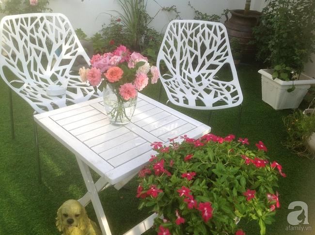 Ngôi nhà vườn rộng 200m² nhìn đâu cũng thấy cây và hoa rực rỡ ở TP HCM - Ảnh 8.