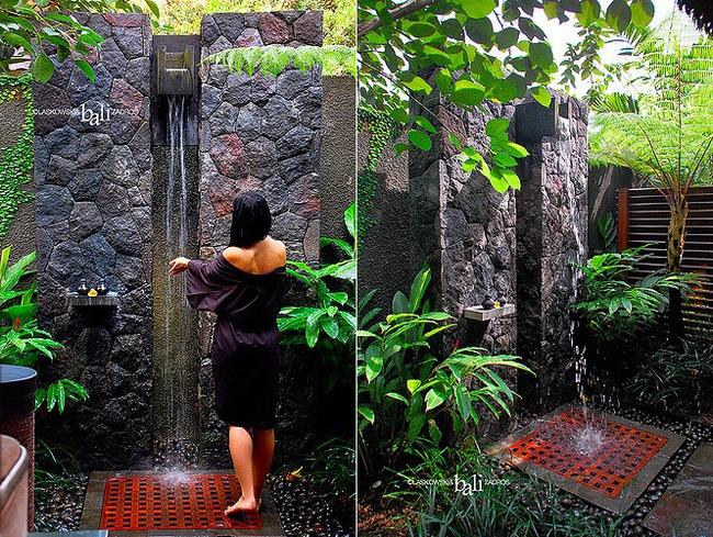 Nhà tắm ngoài trời, cách đơn giản để mang thiên đường vào không gian sống - Ảnh 3.
