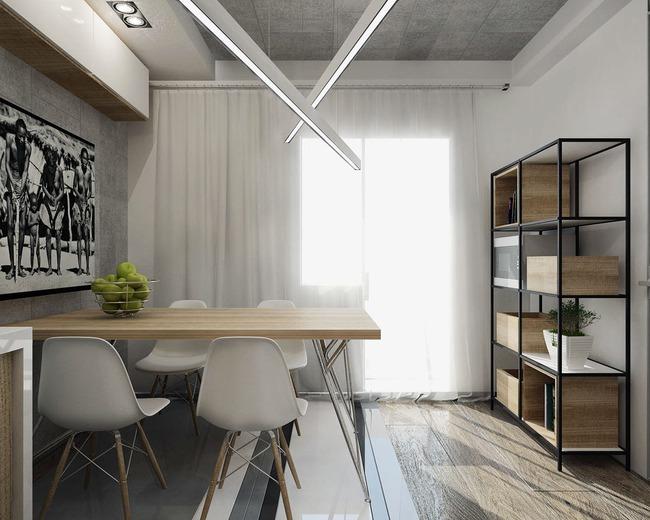 Thiết kế xinh yêu, hợp lý thế này thì căn hộ nhỏ cũng dư sức khiến bạn yêu từ cái nhìn đầu tiên - Ảnh 9.