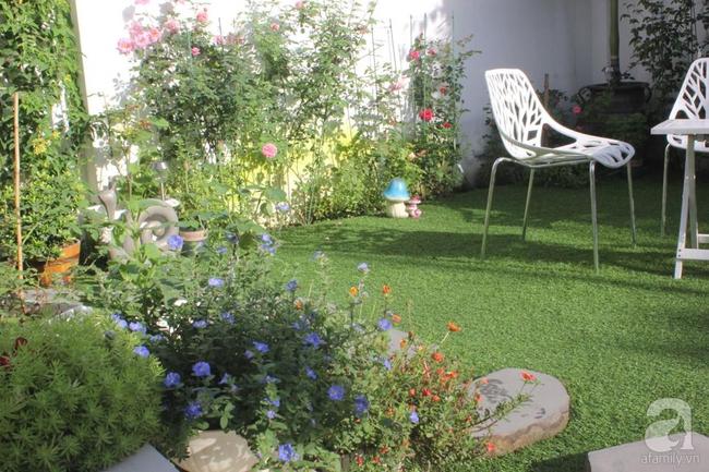 Ngôi nhà vườn rộng 200m² nhìn đâu cũng thấy cây và hoa rực rỡ ở TP HCM - Ảnh 9.