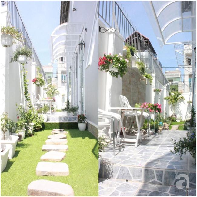 Ngôi nhà vườn rộng 200m² nhìn đâu cũng thấy cây và hoa rực rỡ ở TP HCM - Ảnh 10.