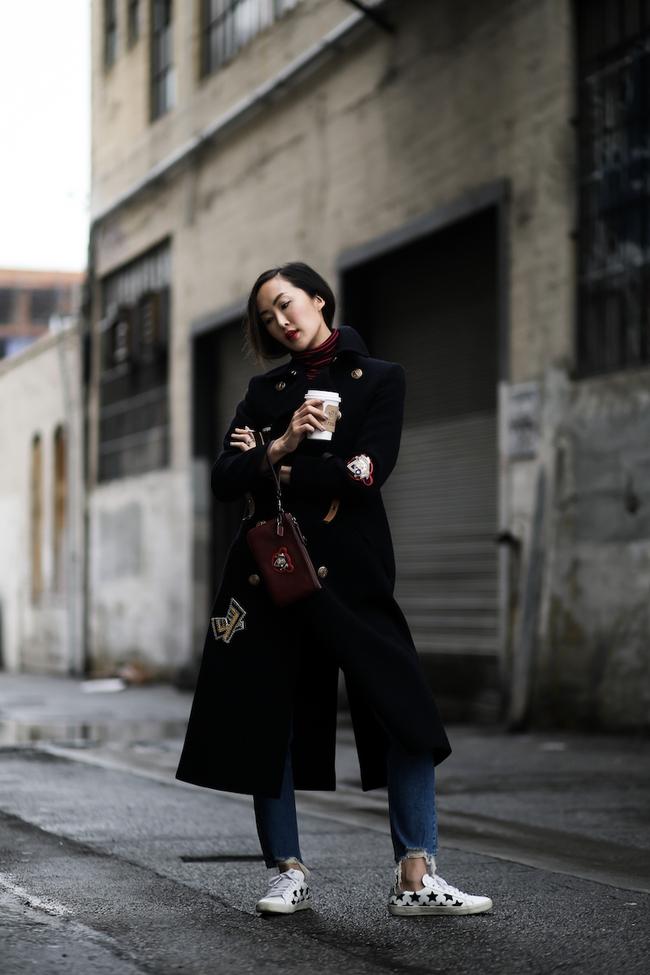 Xem loạt gợi ý từ street style châu Á để diện đồ vừa ấm vừa chất khi thời tiết đột ngột chuyển lạnh - Ảnh 14.