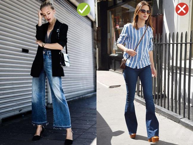 Đến quần jeans dáng sơ bản cũng có kiểu chuẩn xu hướng, kiểu không - Ảnh 9.