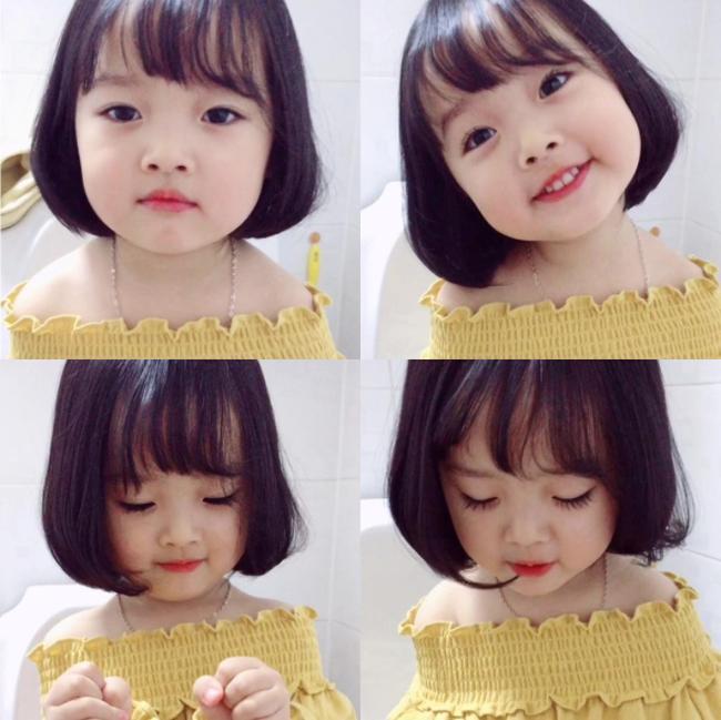 Những cách tạo kiểu với tóc ngắn đáng yêu đến lịm người cho bé gái - Ảnh 2.