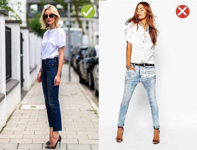 Đến quần jeans dáng sơ bản cũng có kiểu chuẩn xu hướng, kiểu không - Ảnh 5.