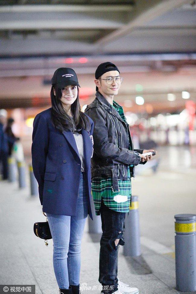 Mặc kệ tin đồn Angelababy ngoại tình, Huỳnh Hiểu Minh vẫn yêu chiều vợ như thế này - Ảnh 2.