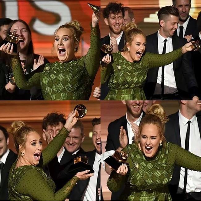 Khoảnh khắc đáng nhớ nhất Grammy 2017: Adele bẻ kèn, Katy Perry chế nhạo Britney Spears? - Ảnh 5.
