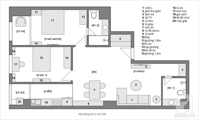Chỉ với 200 triệu, tôi có thể hoàn thiện nội thất cho căn hộ 100m² như thế nào? - Ảnh 1.
