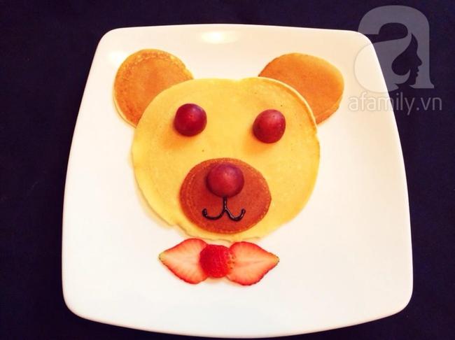 Bữa sáng đổi món với bánh pancake tràn đầy sắc xuân - Ảnh 5.
