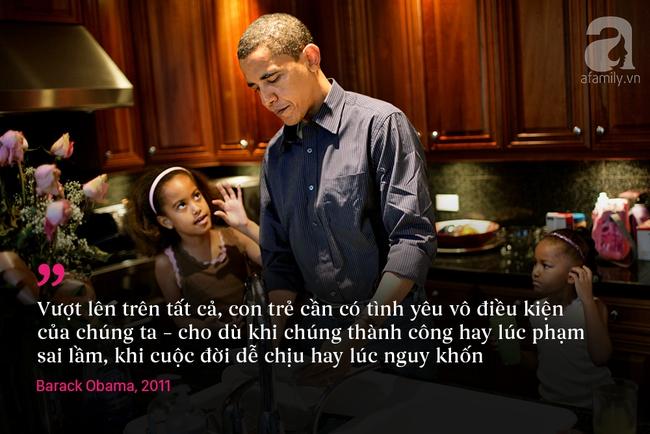 10 châm ngôn nuôi dạy con để đời của vợ chồng Barack Obama - Ảnh 6.