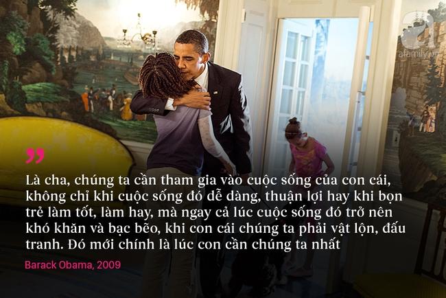 10 châm ngôn nuôi dạy con để đời của vợ chồng Barack Obama - Ảnh 7.