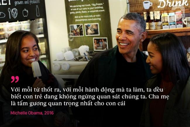 10 châm ngôn nuôi dạy con để đời của vợ chồng Barack Obama - Ảnh 1.