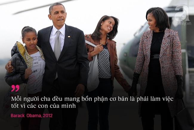 10 châm ngôn nuôi dạy con để đời của vợ chồng Barack Obama - Ảnh 3.