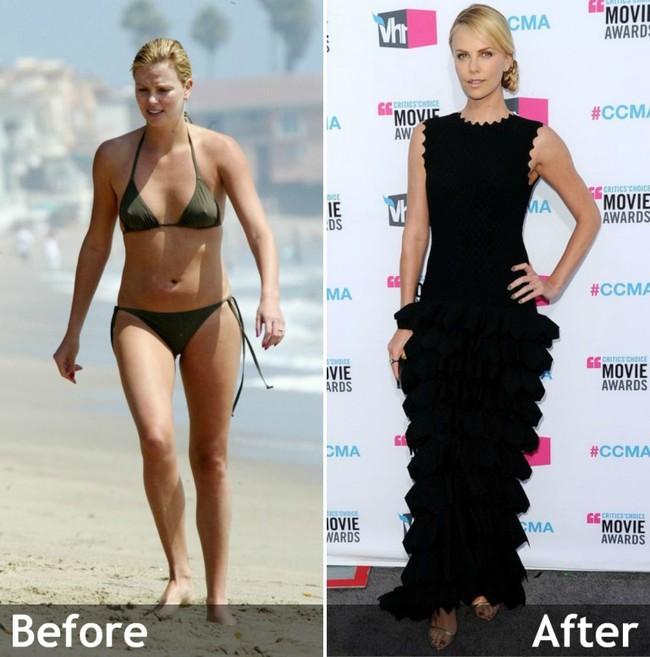 """Nữ diễn viên Charlize Theron đã giảm cân ngoạn mục thế nào sau khi đóng phim """"Monster""""? - Ảnh 4."""