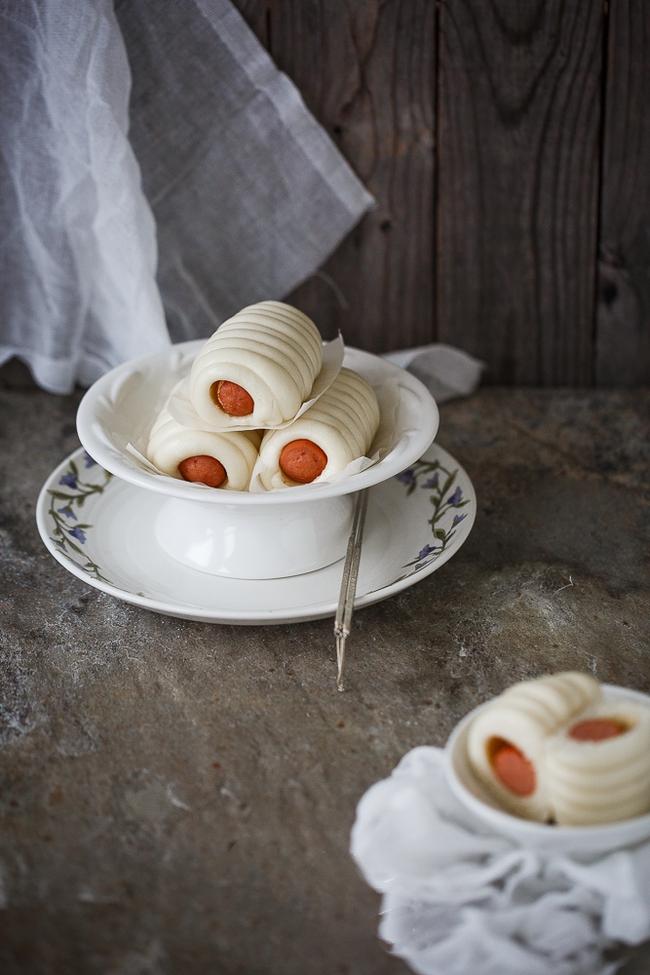 Bữa sáng không thể ngon hơn với bánh bao cuộn xúc xích cực lạ miệng - Ảnh 4.