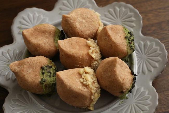 Làm bánh hạt dẻ siêu ngon chẳng cần dùng lò nướng - Ảnh 6.