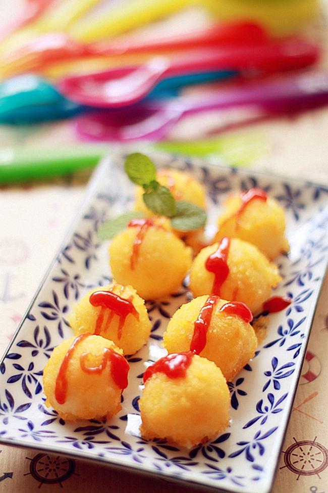 Bánh khoai tây chiên vàng thơm giòn rụm không ai là không mê - Ảnh 5.