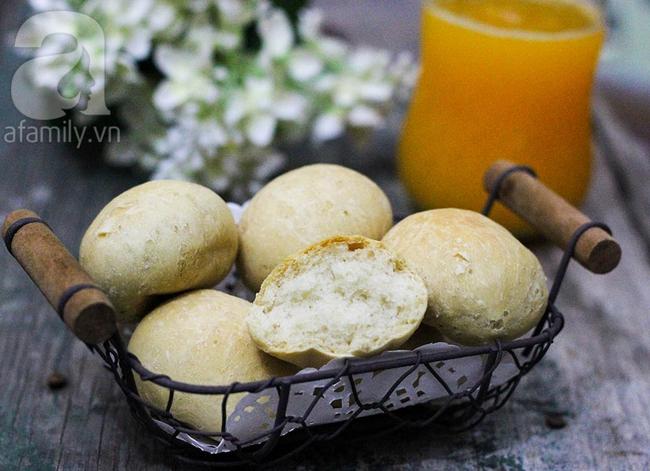 Dùng nồi cơm điện làm bánh mì thơm mềm từ A-Z - Ảnh 1.