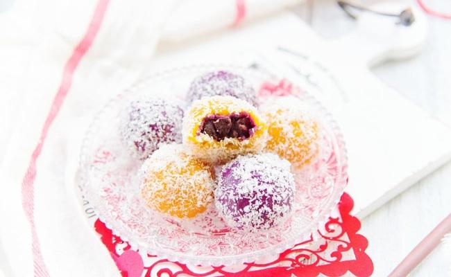 Dẻo ngon đẹp mắt món bánh nếp tẩm dừa - Ảnh 5.