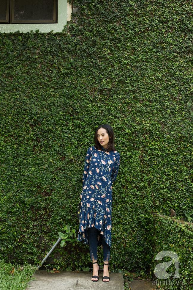 5 kiểu biến hóa thời trang cùng chiếc váy midi dài