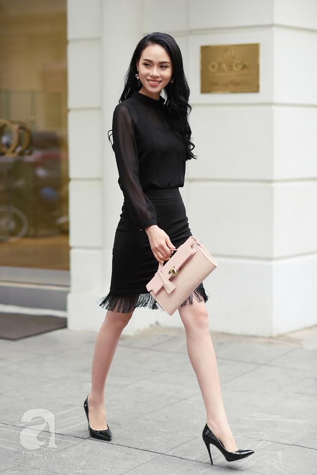 Street style pha trộn khéo léo chất hiện đại và cổ điển của quý cô hai miền - Ảnh 1.