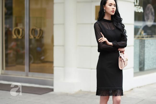 Street style pha trộn khéo léo chất hiện đại và cổ điển của quý cô hai miền - Ảnh 2.