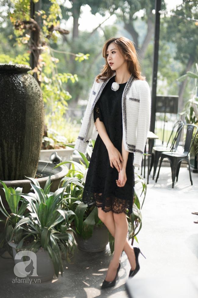 Biến đổi phong cách từ công sở chỉn chu đến tiệc tùng sôi động với những gợi ý váy áo thanh lịch  - Ảnh 12.