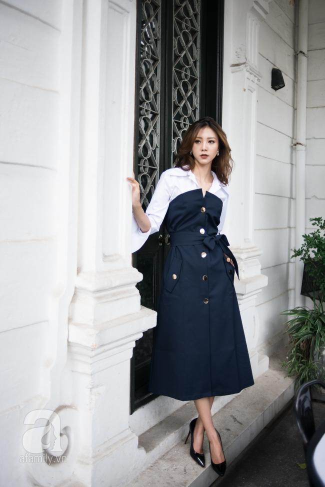 Biến đổi phong cách từ công sở chỉn chu đến tiệc tùng sôi động với những gợi ý váy áo thanh lịch  - Ảnh 18.