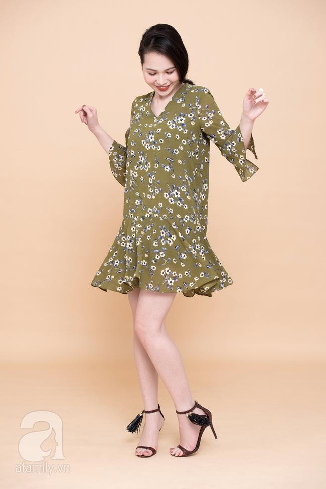 Cả tuần mặc đẹp: Đến sở làm không gì đẹp xinh hơn những thiết kế váy áo tay loe nữ tính - Ảnh 9.