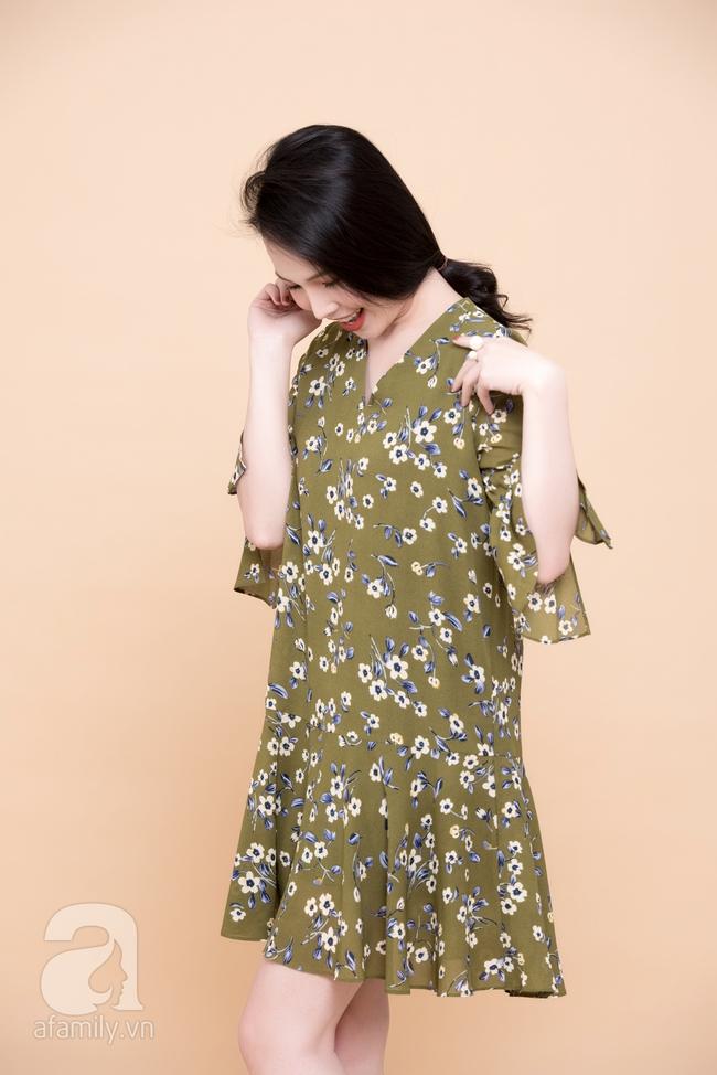 Cả tuần mặc đẹp: Đến sở làm không gì đẹp xinh hơn những thiết kế váy áo tay loe nữ tính - Ảnh 10.