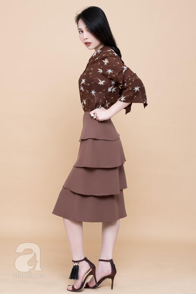 Cả tuần mặc đẹp: Đến sở làm không gì đẹp xinh hơn những thiết kế váy áo tay loe nữ tính - Ảnh 6.