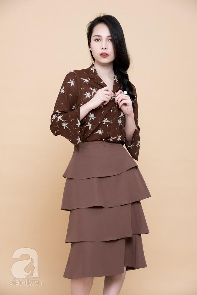 Cả tuần mặc đẹp: Đến sở làm không gì đẹp xinh hơn những thiết kế váy áo tay loe nữ tính - Ảnh 7.