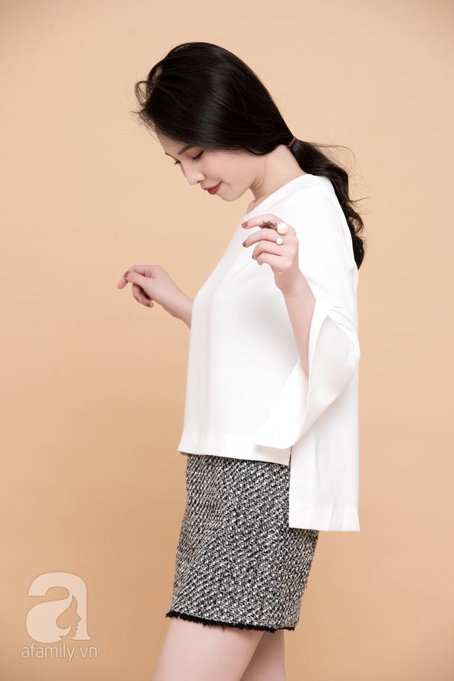 Cả tuần mặc đẹp: Đến sở làm không gì đẹp xinh hơn những thiết kế váy áo tay loe nữ tính - Ảnh 12.